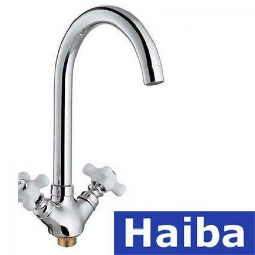 Смеситель для кухни на гайке HAIBA ODYSSEY (Chr-275)