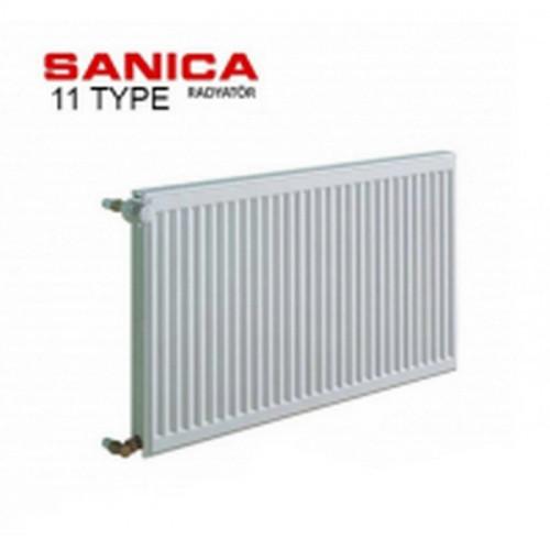 Стальной радиатор Sanica тип 11 (300/1100) Турция
