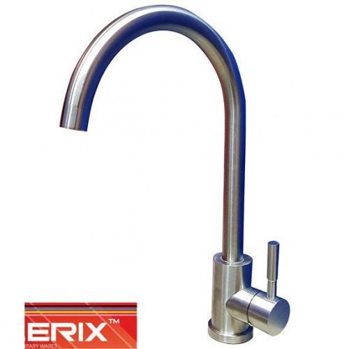 Смеситель для кухни Ухо Zerix LR SUS (нержавейка)
