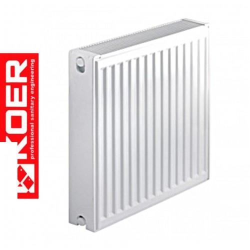 Стальные радиаторы Koer 22 тип 500*700 Чехия (боковое подключение)