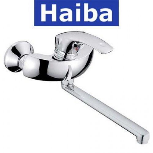 Смеситель для кухни от стены HAIBA Mars (Chr-005)