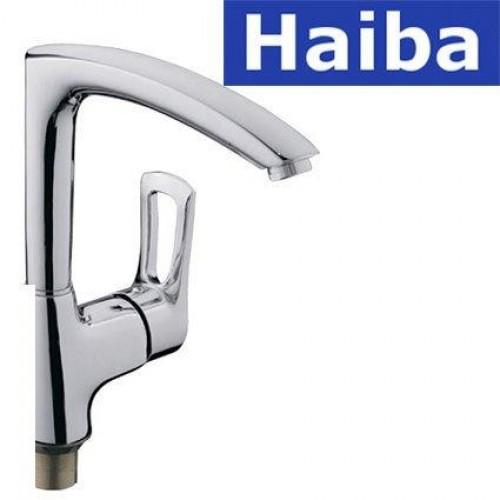 Смеситель для кухни Ухо HAIBA HANSBERG (Chr-018)