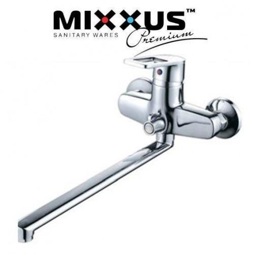 Смеситель для ванны длинный нос Mixxus Gavi Euro (Chr-006)