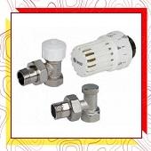 Радіаторні та термостатичні крани, термоголовки
