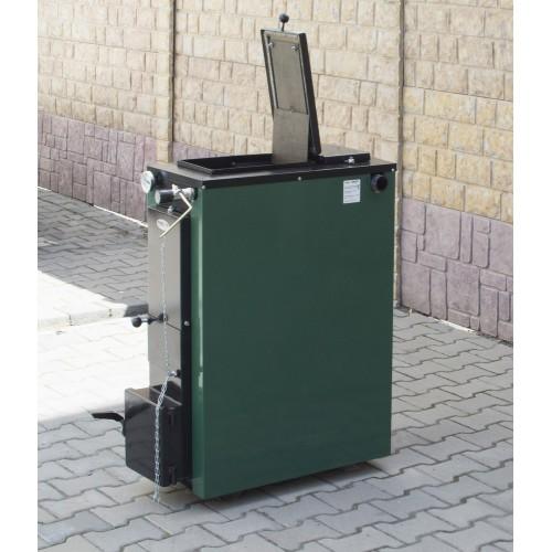 Твердотопливный котел длительного горения TERMIT-TT 32 Э (32 кВт) эконом (без обшивки и теплоизоляции)