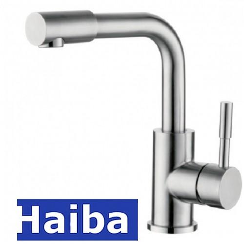 Смеситель для умывальника HAIBA SUS-001-F из нержавеющей стали