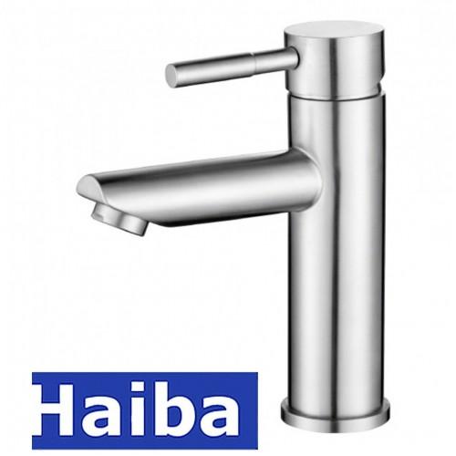 Смеситель для умывальника HAIBA SUS-001-A из нержавеющей стали