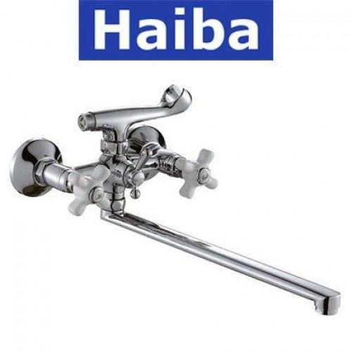 Смеситель для ванны длинный нос HAIBA ODYSSEY (Chr-143)