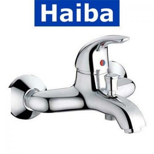 Смеситель для ванны короткий нос HAIBA Violet (Chr-009)