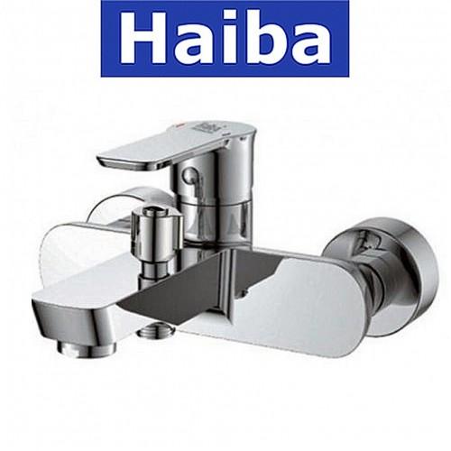 Смеситель для ванны короткий нос HAIBA HOUSTON (Chr-009)