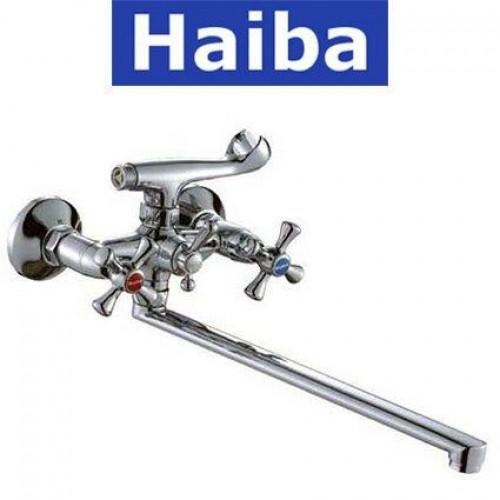 Смеситель для ванны длинный нос HAIBA SMES (Chr-143)