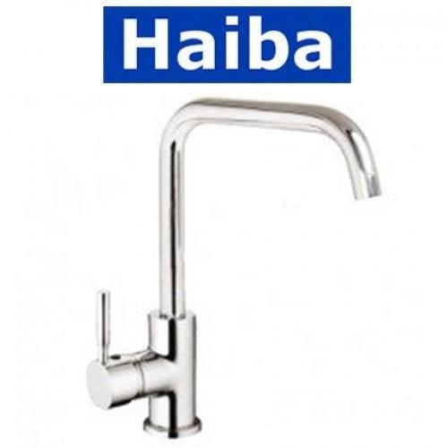 Смеситель для кухни Ухо HAIBA HANS Chr-011-G