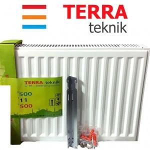 Радиатор стальной TERRA teknik т11 500*500 (боковое подключение)