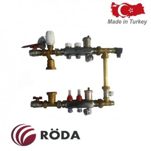 Коллектор Roda на 4 выхода