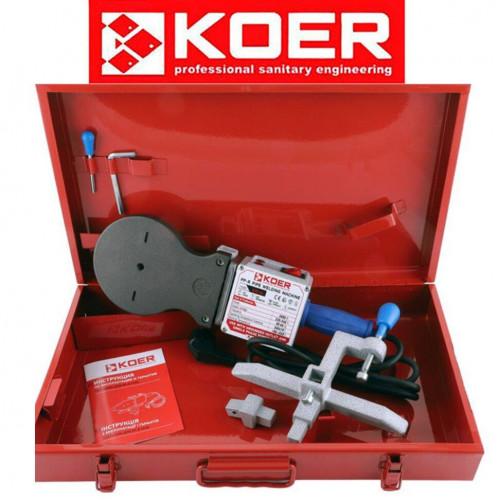 Паяльник для полипропиленовой трубы KOER SET-04 (2000Вт, без насадок)