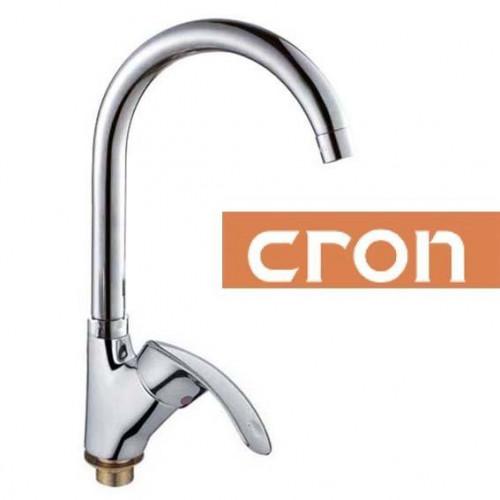 Смеситель для кухни Ухо на гайке Cron Mars G (Chr-777)