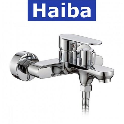 Смеситель для ванны короткий нос HAIBA AMIX EURO (Chr-009)