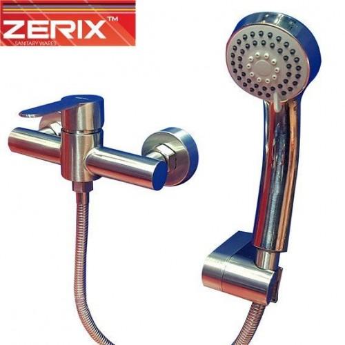 Смеситель для душевой кабины ZERIX LR72003 (нержавейка)