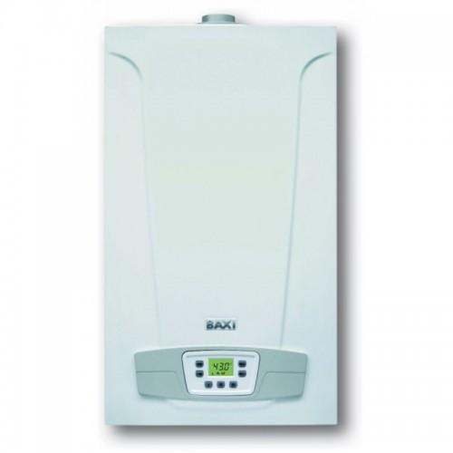 Настенный газовый котел Baxi Eco compact 1.14 Fi одноконтурный (turbo) + комплект дымохода