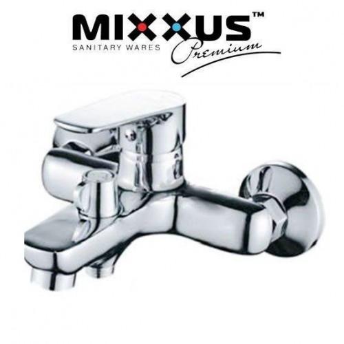 Смеситель для ванны короткий нос Mixxus Nem Euro (Chr-004)