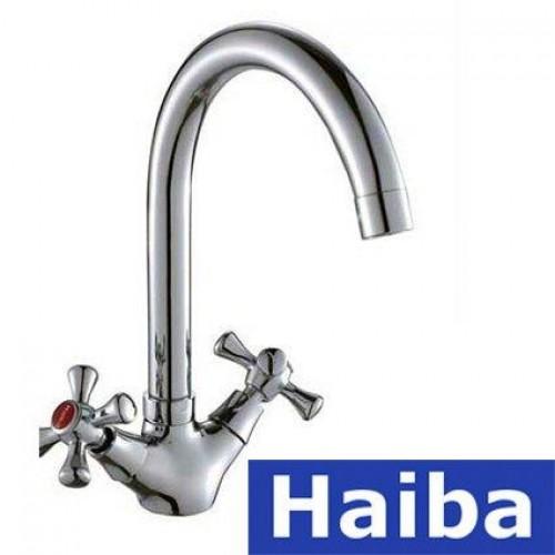 Смеситель для кухни HAIBA SMES (Chr-275)