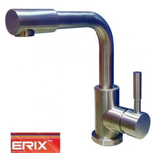 Смеситель для умывальника Zerix LR71098-4 (нержавейка)