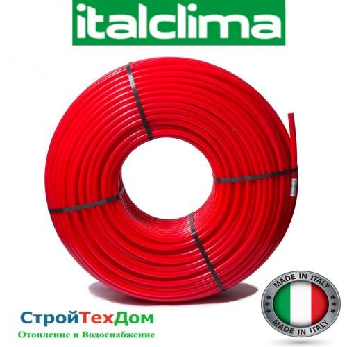 Труба для теплого пола с кислородным барьером ITALCLIMA 16*2.0 мм. ИТАЛИЯ 200 метров