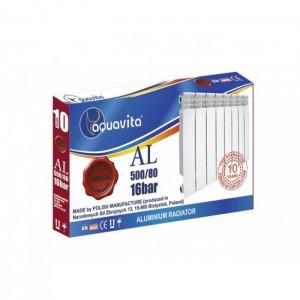 Алюминиевый радиатор Aquavita 500/80