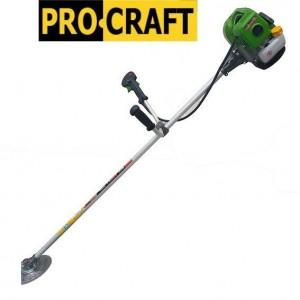 Бензокоса Procraft T4350 (3 ножа (40Т победит, 3Т, 8Т) и 1 катушка-леска) штанга 28см