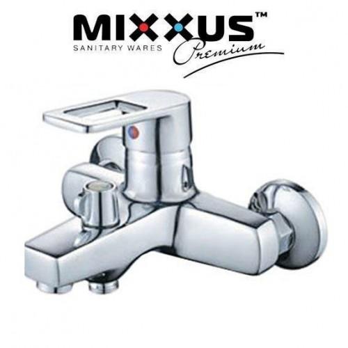 Смеситель для ванны короткий нос Mixxus Gavi EURO (Chr-009)