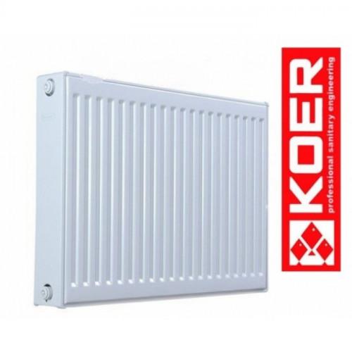 Стальной радиатор Koer 500/1500 тип 22 Чехия