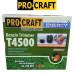 Бензокоса ProCraft T4500 (3 ножа (40Т победит, 3Т, 8Т) и 1 катушка-леска) штанга 28см
