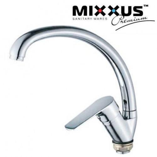 Смеситель для кухни ухо на гайке Mixxus Nem (Chr-777)