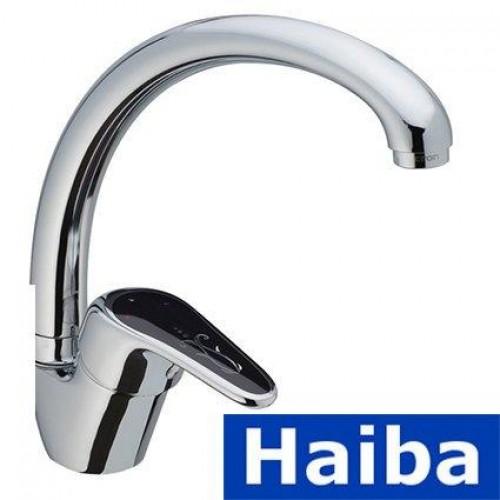 Смеситель для кухни Ухо HAIBA MAGIC BLACK(Chr-011)