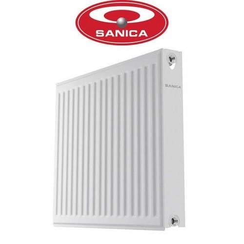 Стальные радиаторы Sanica 11 500*500 Турция (боковое подключение)