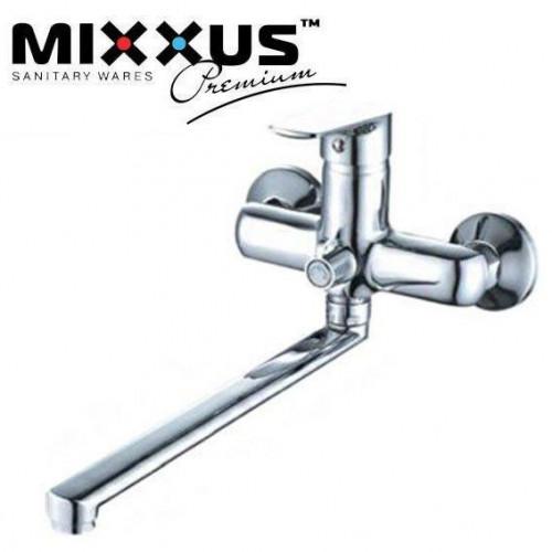 Смеситель для ванны длинный нос Mixxus Nem Euro (Chr-006)
