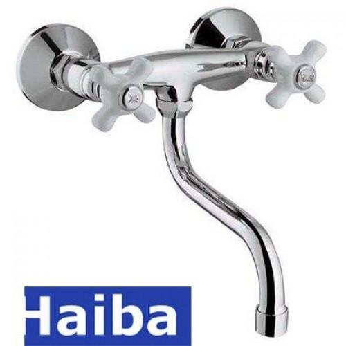 Смеситель для кухни от стены HAIBA ODYSSEY (Chr-361)
