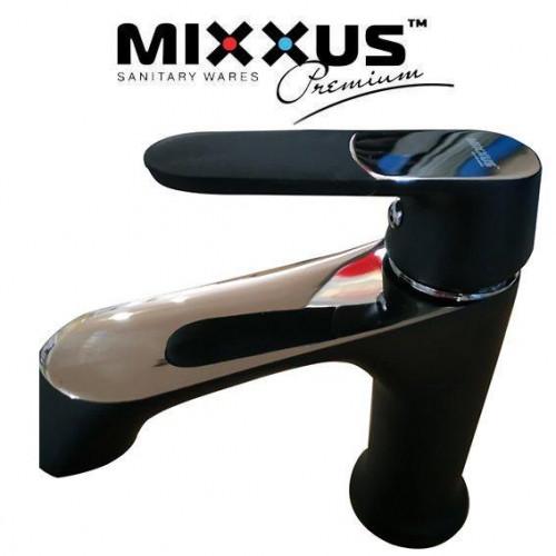 Смеситель для умывальника MIXXUS Missouri Black (черный) (Chr-001), Польша