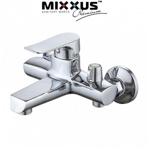 Смеситель для ванны короткий нос Mixxus Nobel EURO (Chr-009)
