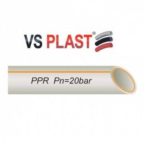 Труба VS Plast FR-PPR Fiber PN25 20x3.4
