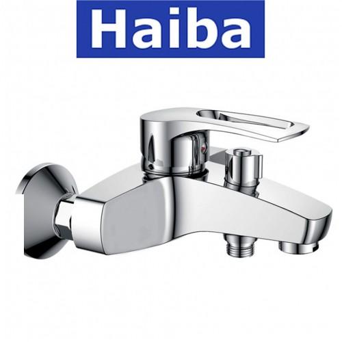Смеситель для ванны короткий нос HAIBA Germes EURO (Chr-009)