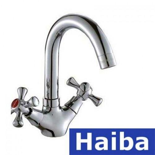 Смеситель для умывальника HAIBA SMES (Chr-274)