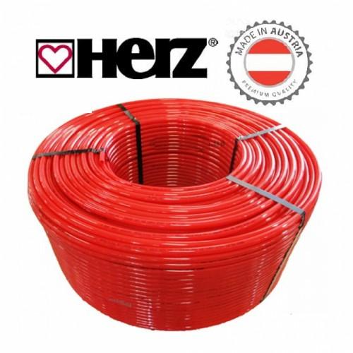 Труба для теплого пола Herz 16х2.0 PE-RT с кислородным барьером