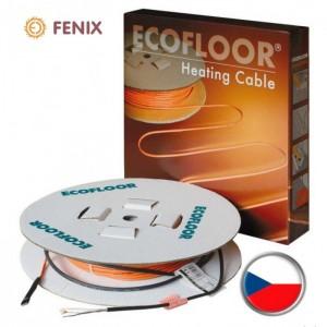 Нагревательный кабель Fenix (Чехия) одножильный ASL1P 18 Вт/м 2400 Вт для укладки в стяжку