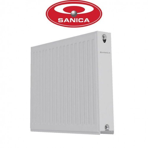 Стальные радиаторы Sanica 22 500*1100 Турция (боковое подключение)