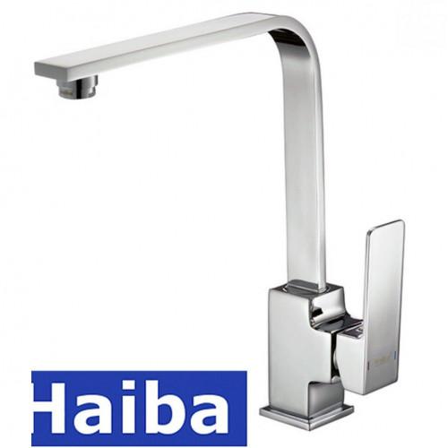 Смеситель для кухни Ухо HAIBA MILLER (Chr-017)